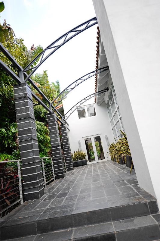 Magnifique maison design a miami 5 9m immobilier miami for Achat maison usa